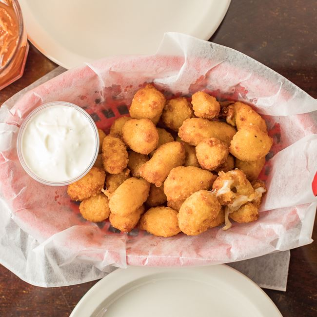 Cheese Curds at Girolamo's Court'n House Bar & Grill