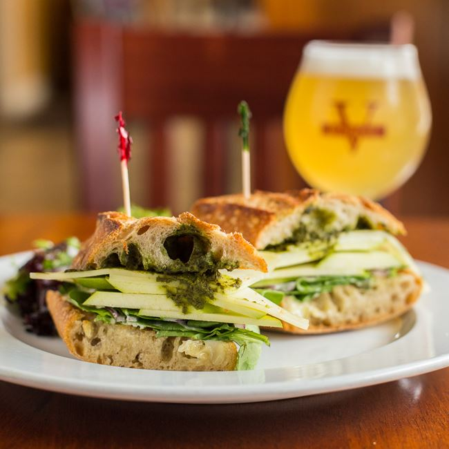 Apple Swiss Sandwich