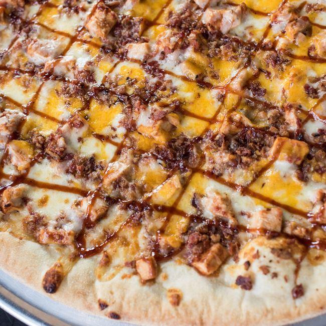 BBQ Chicken & Bacon Pizza
