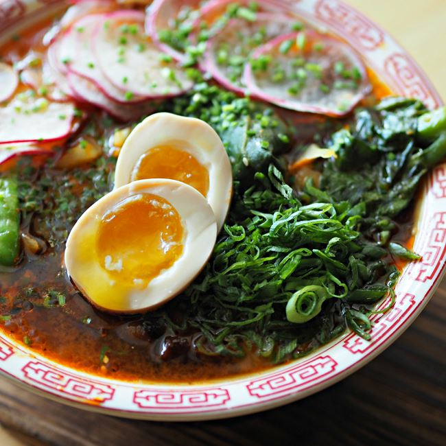 Korean-Style Veggie Ramen at Sujeo