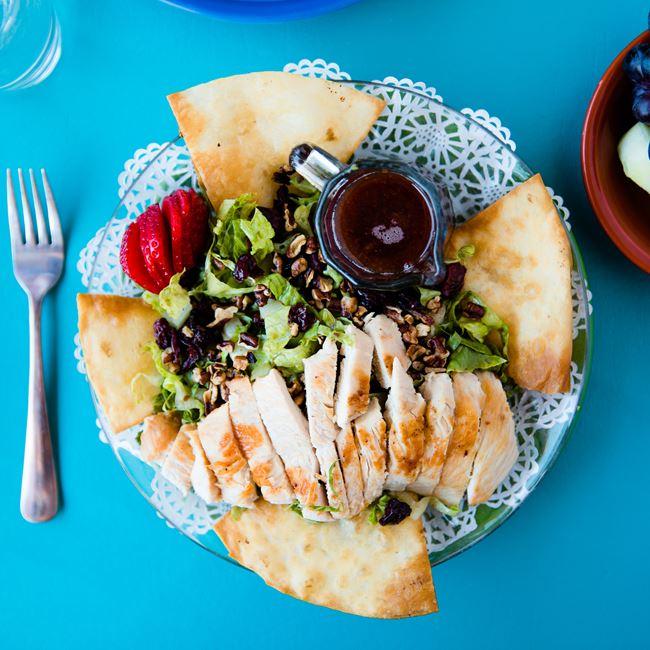 Cherry Ginger Salad at Village Cafe