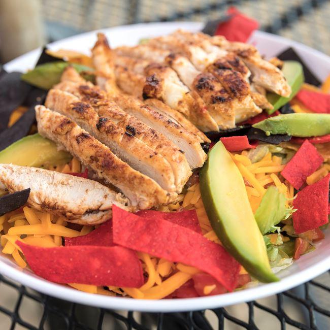 Santa Fe Chicken Salad at Dockside Tavern Food & Spirits