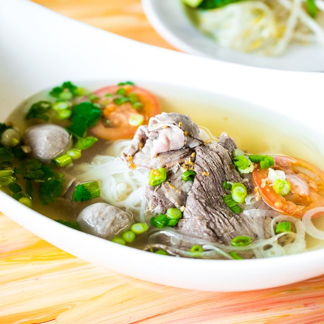 Combination Pho at Nisa Thai Asian Cuisine