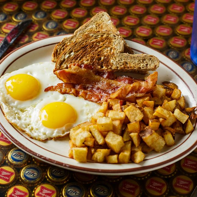 The Classic Breakfast at Vintage Spirits & Grill