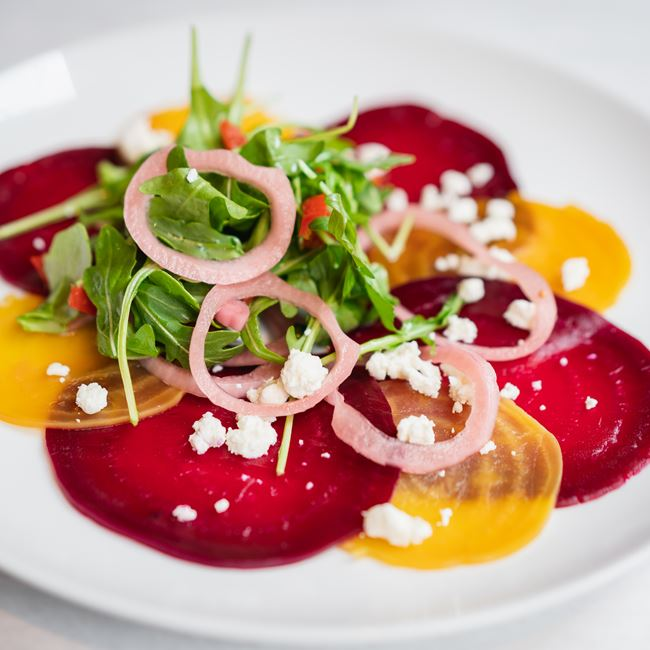 Beetroot Carpaccio at Onesto
