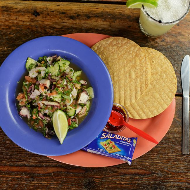 Triple Ceviche at BelAir Cantina