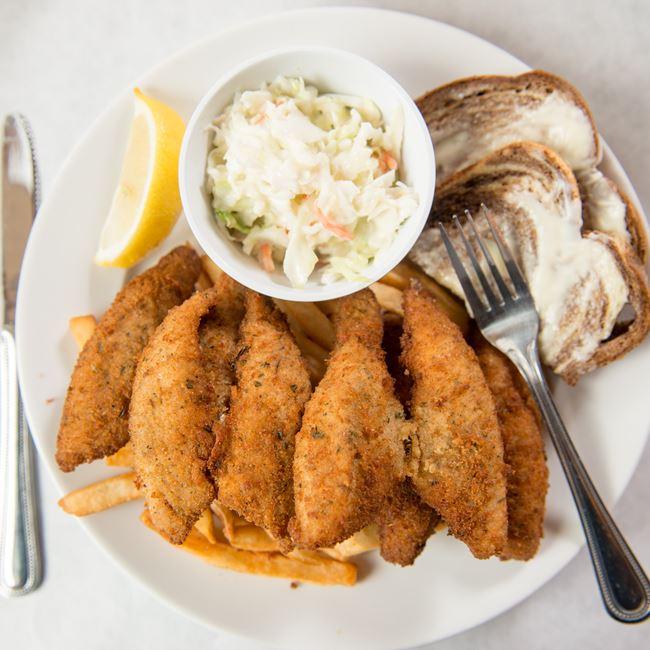 Perch Fish Fry at Gibraltar Grill