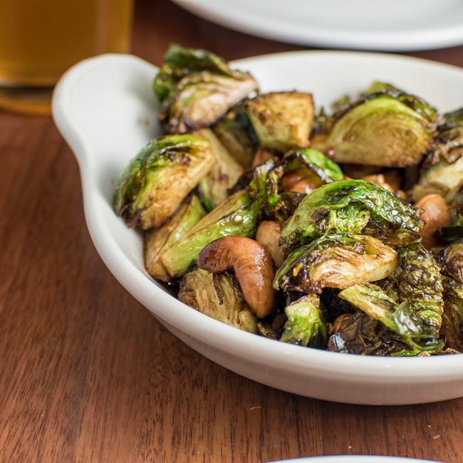 Kung Pao Brussels Sprouts at MadisonTap
