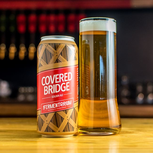 Covered Bridge at The Fermentorium Brewery and Tasting Room