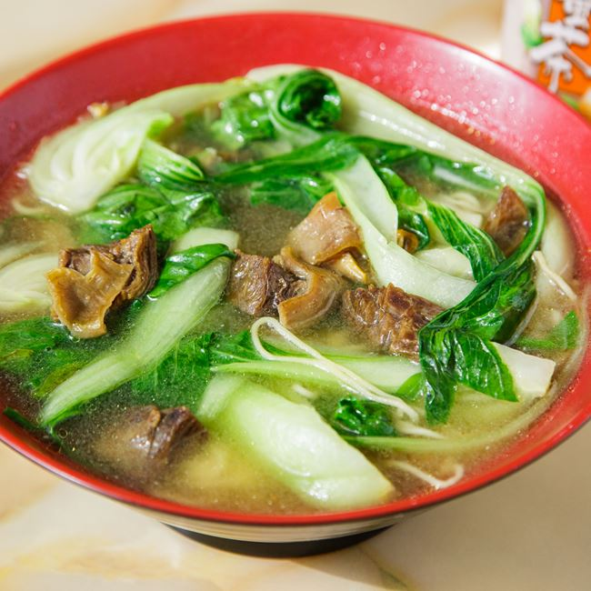 Beef with Noodle Soup