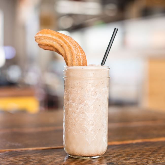 Horchata Smoothie at BelAir Cantina