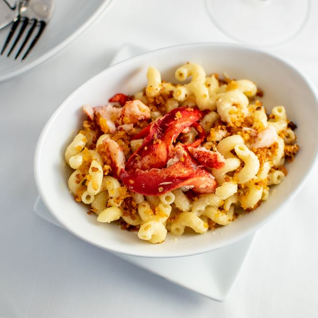 Crab and Lobster Mac at Milwaukee ChopHouse