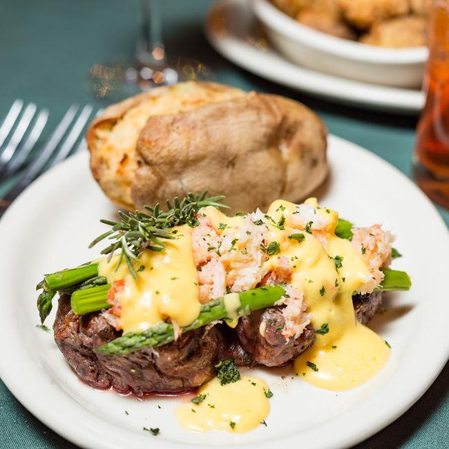 Tenderloin Filet Oscar  at Norwood Pines Supper Club