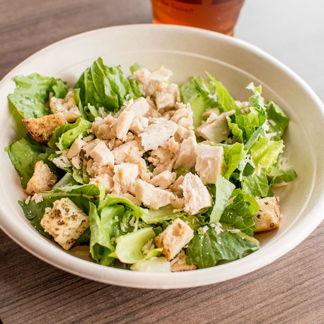 Classic Chicken Caesar Salad at Zoup!