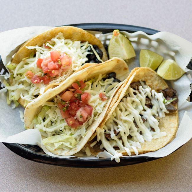 Tacos at Taco King