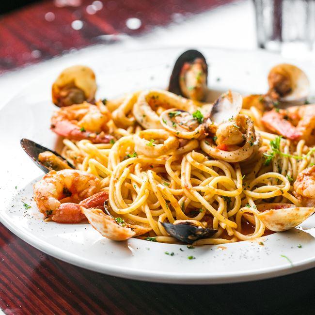 Linguine Pescatore at Arianna's Italian Grill