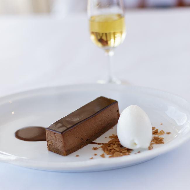 "Mousse au Chocolat ""Yves Camdeborde"" at Bartolotta's Lake Park Bistro"