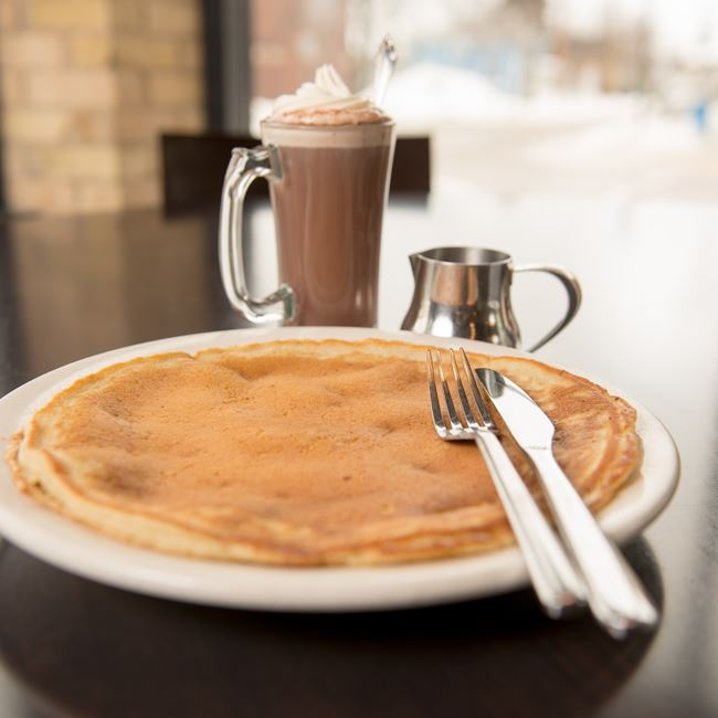 Buttermilk Pancake at Cedar Crossing Restaurant and Bar
