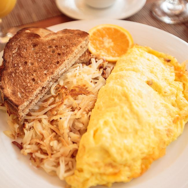 The Farmhouse Omelet at Café at the Pfister