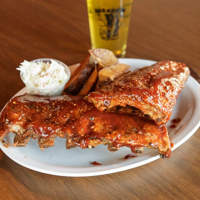 Award Winning BBQ Ribs at Black Bear Bar