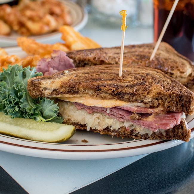 Reuben Sandwich at Connell's Club 12