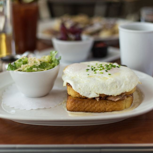 Croque Madame at Blue's Egg