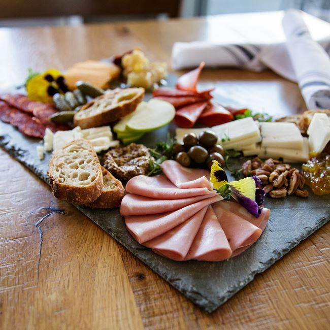 Butcher's Board at The Wise