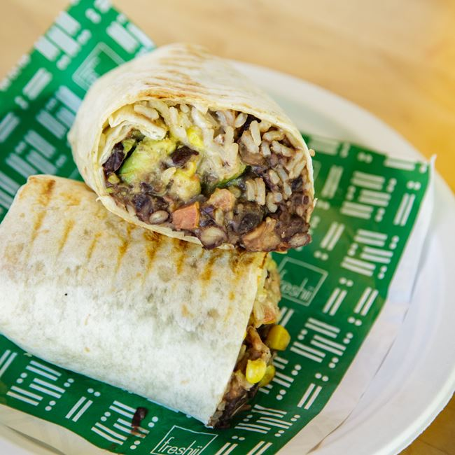 Tex Mex Burrito at Freshii