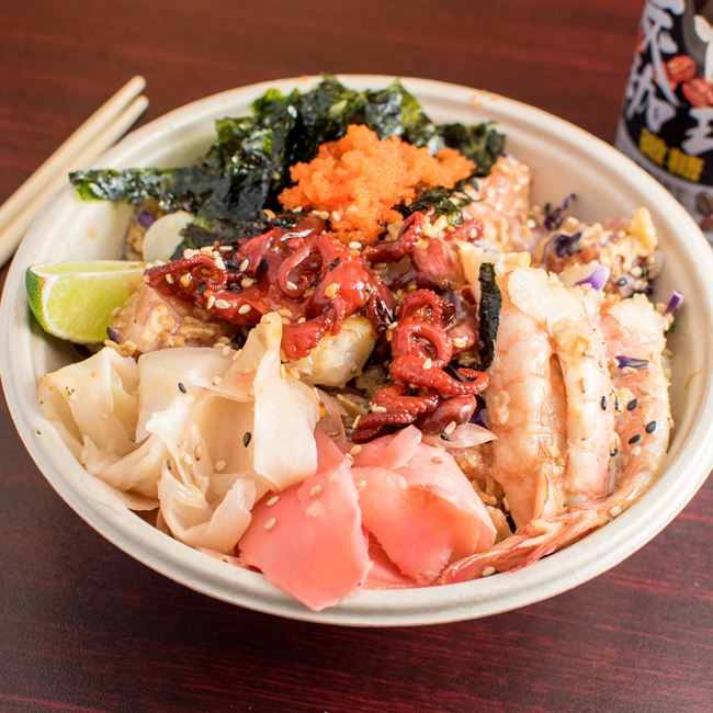 Signature Ocean Feast Poke Poke at Poke Poke