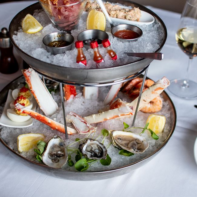Chilled Seafood Sampler at Milwaukee ChopHouse