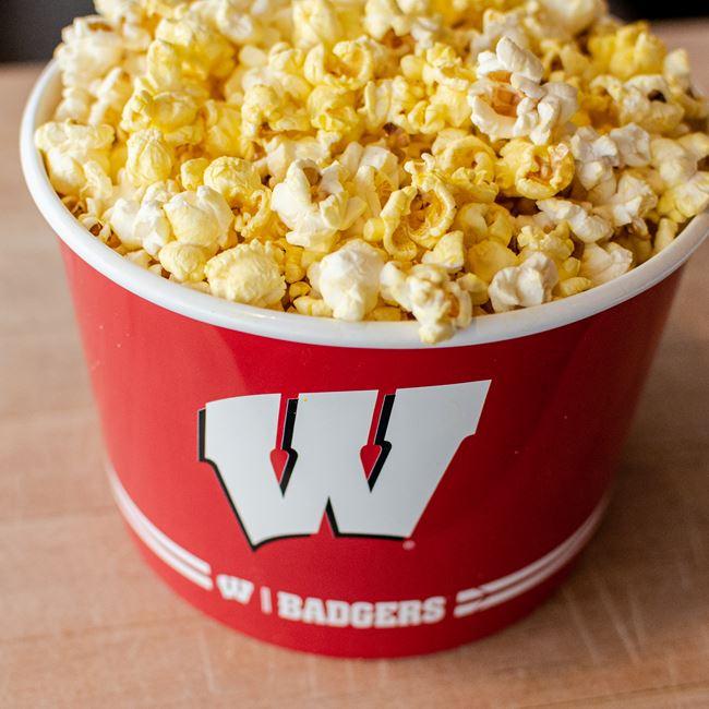 Bottomless Popcorn Bucket at 122 Popcorn & Dippin Dots