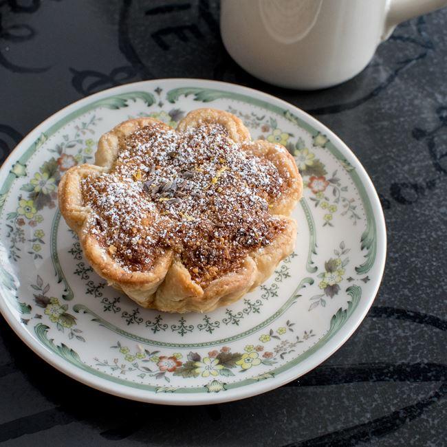 Lemon Lavender Almond Cream Tart