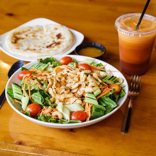 Chicken & Cashew Salad