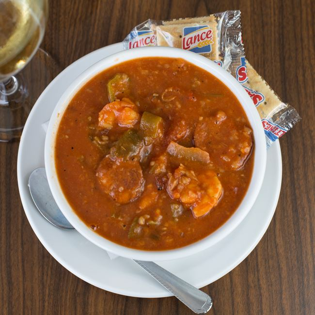 On-The-Bay Gumbo at Boathouse On The Bay