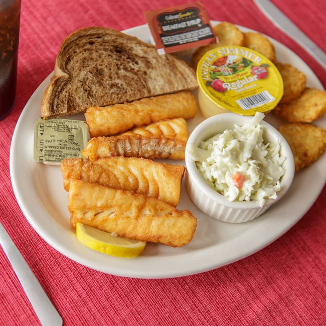 All You Can Eat Beer Battered Haddock Friday Fish Fry at Slo's Pub