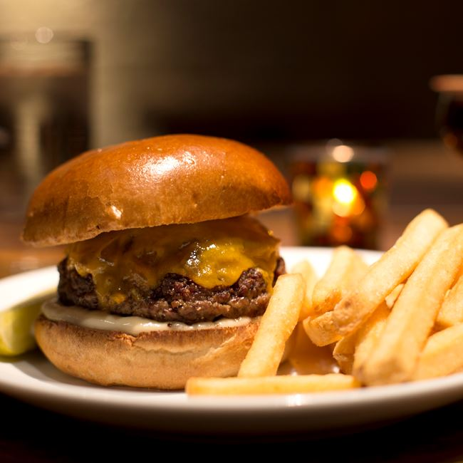 Distil Burger at Distil