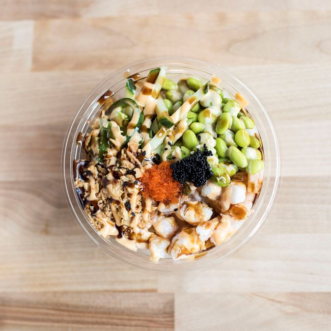 Crunch Bowl at Aloha Poke Co.