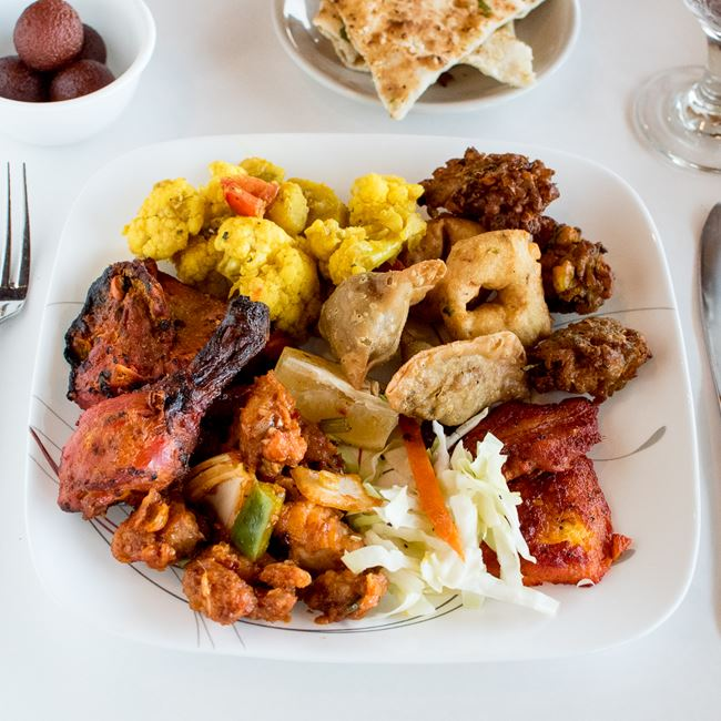 Indian Lunch Buffet at Amber Indian Cuisine