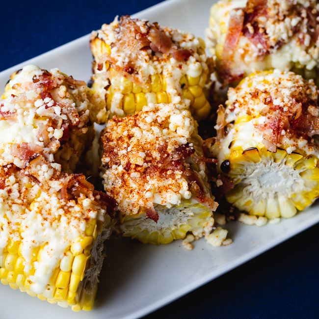 Milwaukee Street Corn at Blue Bat Kitchen and Tequilaria