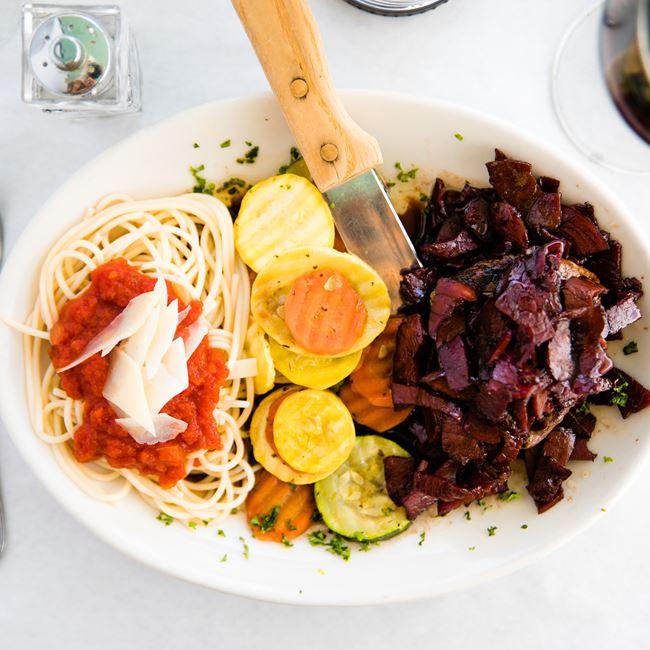 Prosciutto Steak  at Villaggios