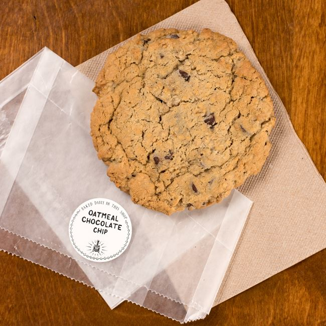 Oatmeal Chocolate Chip Cookie at Potbelly Sandwich Shop