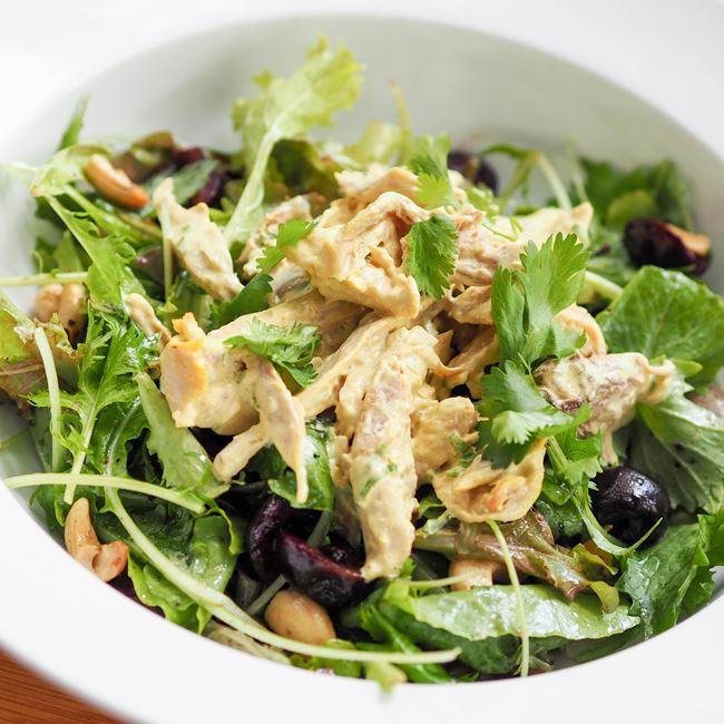 Curry Chicken Salad at Graze