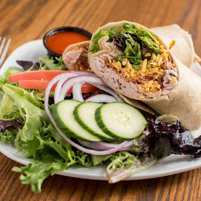 Turkey Bacon Ranch Wrap at C. Wiesler's Saloon & Eatery