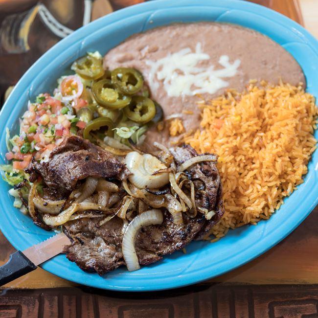 Carne Asada at Los Jaripeos