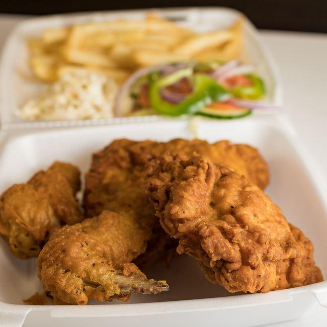 4 Piece Chicken Platter at La Familia