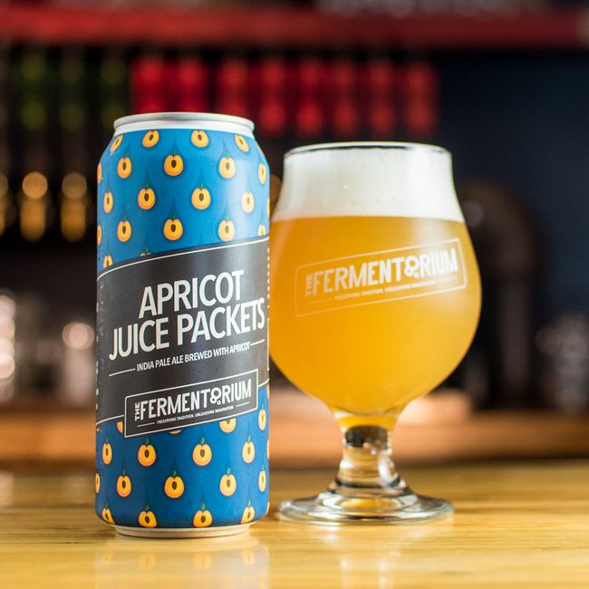 Apricot Juice Packets IPA at The Fermentorium Brewery and Tasting Room