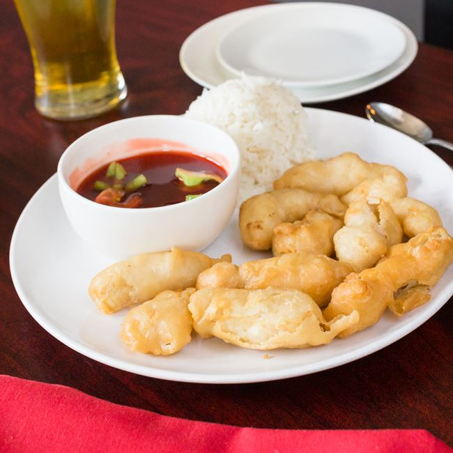 Sweet and Sour Chicken at New Fortune Asian Cuisine