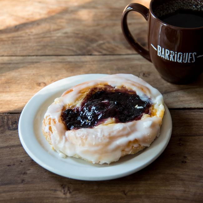Blueberry Danish at Barriques