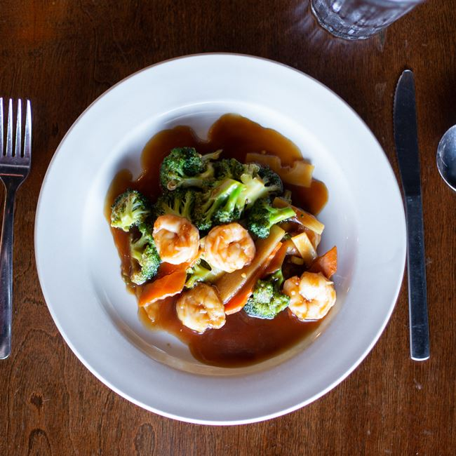 Shrimp with Vegetables at Jade Garden