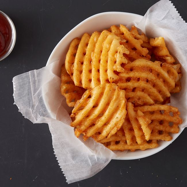 Waffle Fries - Large at Wings Over Rutgers